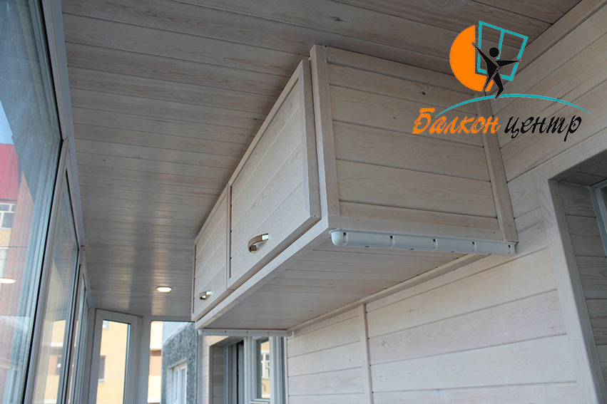 подвесной шкаф на балкон